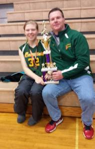 pie dad trophy